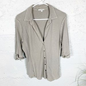 James Perse Button Shirt